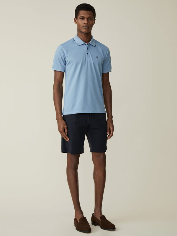 Fine Cotton Pique Polo