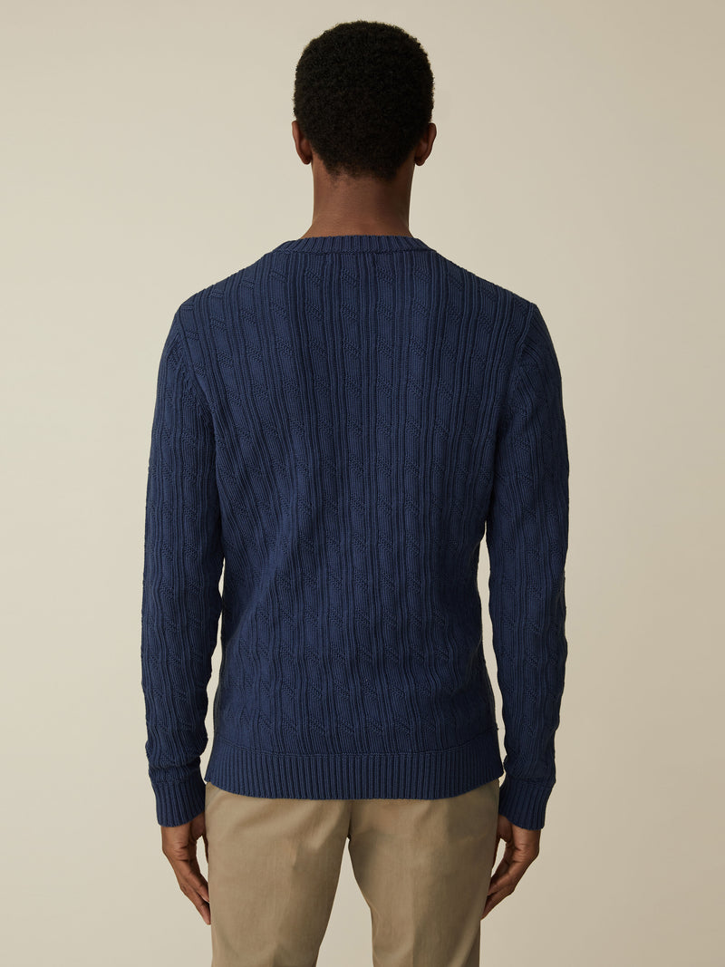 Cotton And Cashmere Crewneck