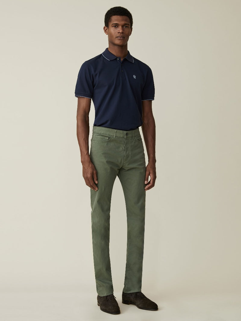 Garment Dyed Five Pocket Chinos