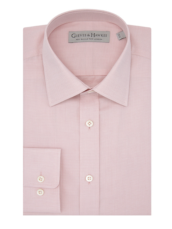 Pink Oxford Tailored Fit Shirt