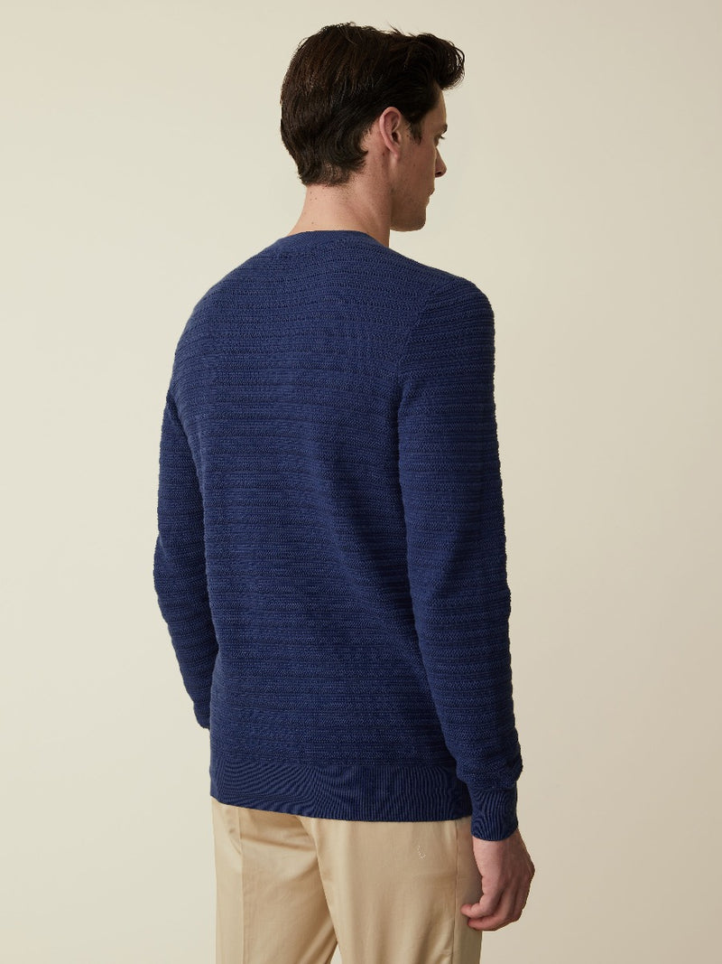 Cotton, Cashmere And Wool Crewneck