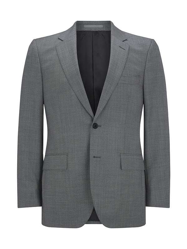 Textured Wool Suit Jacket