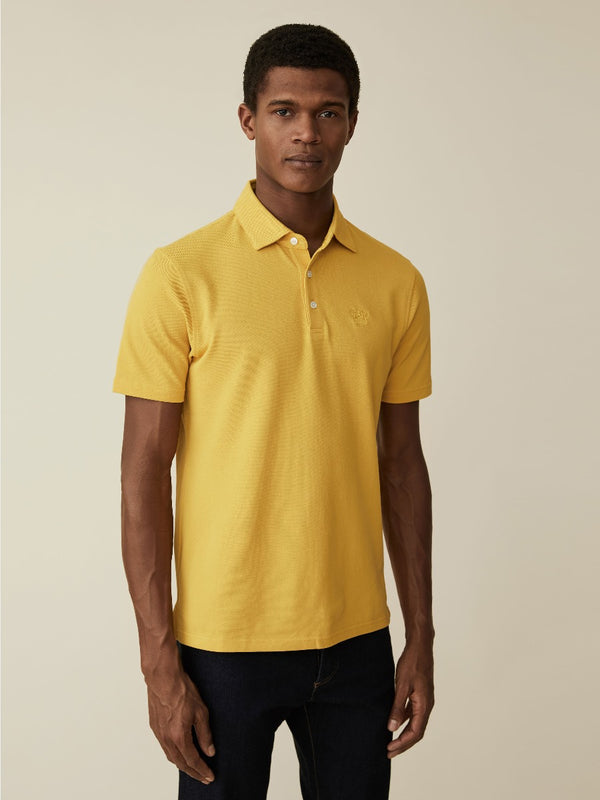 Washed Cotton Pique Polo
