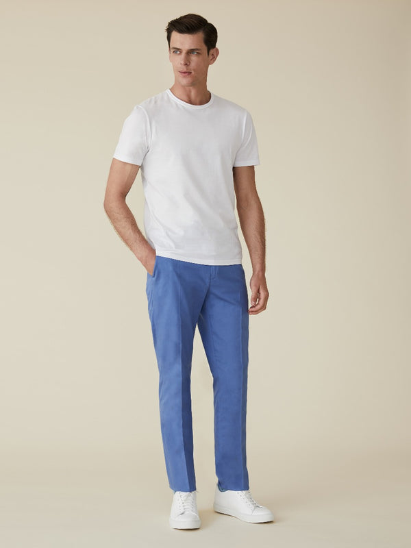 Cotton Slim Fit Chinos