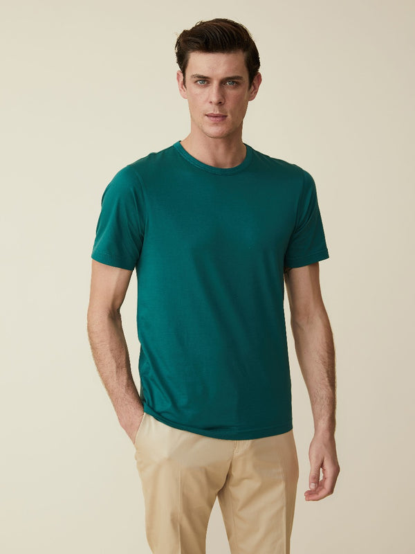 Jungle Green Jersey T-shirt