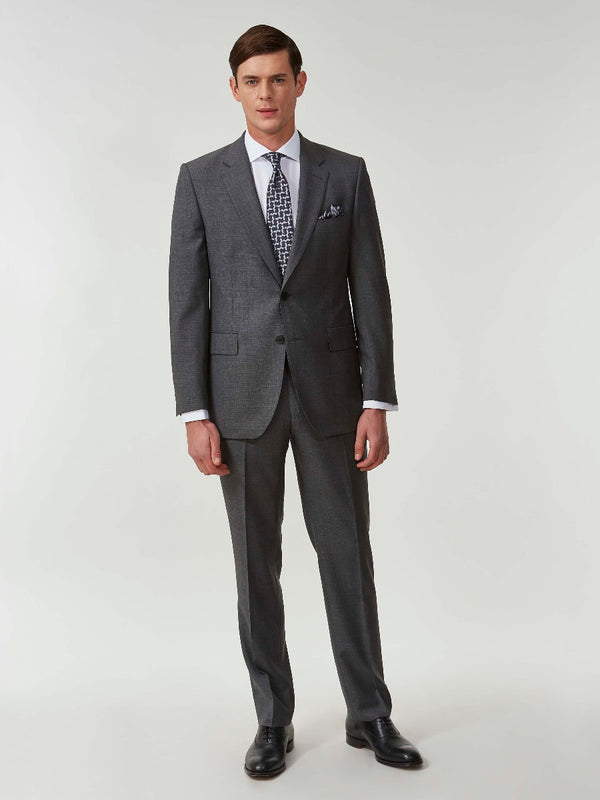 Charcoal Superfine Wool Suit