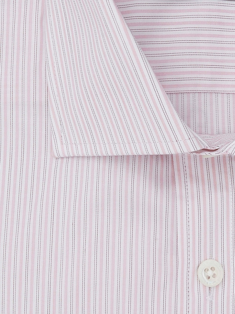 Light Pink Stripe Tailored Fit Shirt
