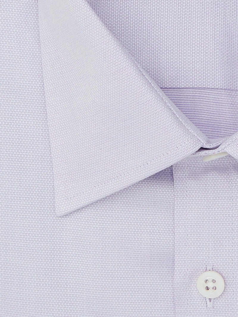 Lilac Oxford Tailored Fit Shirt