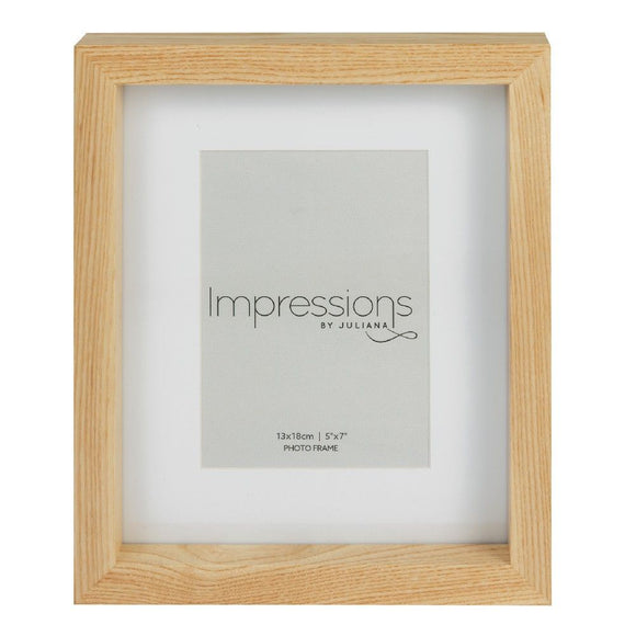 Impressions Wooden Frame With Natural Finish