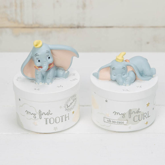 Disney Magical Beginnings Tooth & Curl Boxes Dumbo