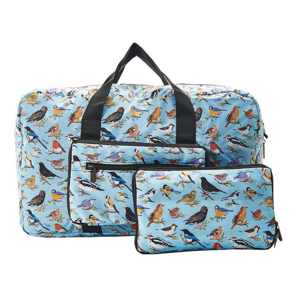 Blue Wild Birds Holdall Bag