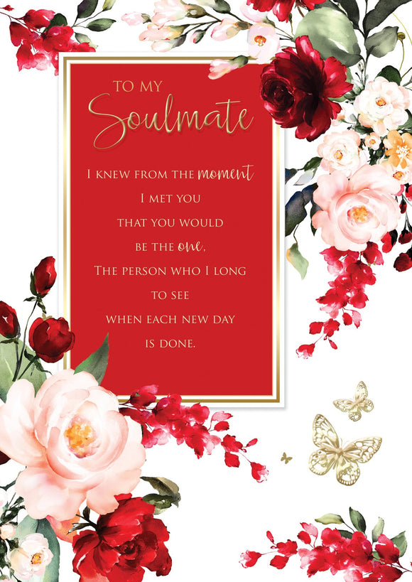 Soulmate Birthday Card