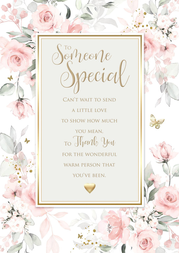 Someone Special Birthday Card