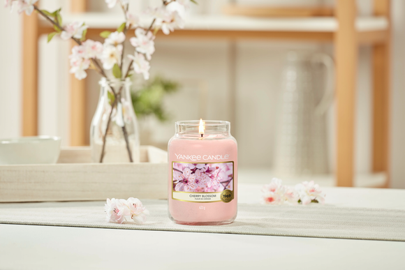 Cherry Blossom Large Jar