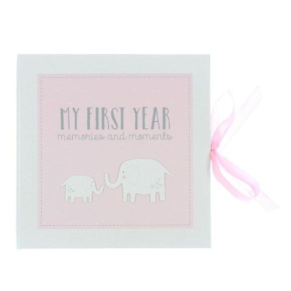 Petit Cheri My First Year Record Book Pink