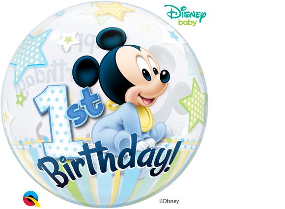 Disney Mickey Mouse 1st Birthday