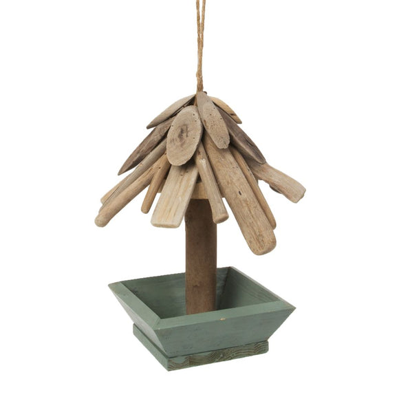 Wooden Bird Feeder 25cm
