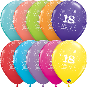 18-A-Round Latex Balloons