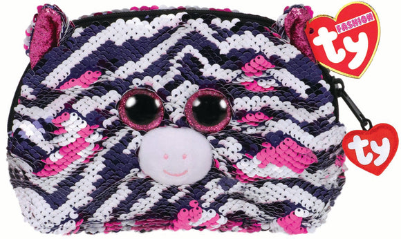 Zoey Zebra Accessory Bag