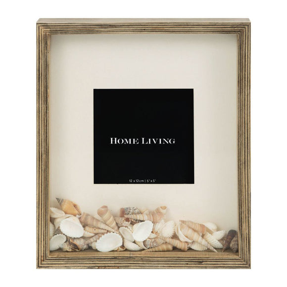 Sea Shell Box Photo Frame