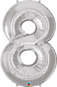 Microfoil Number Eight Silver