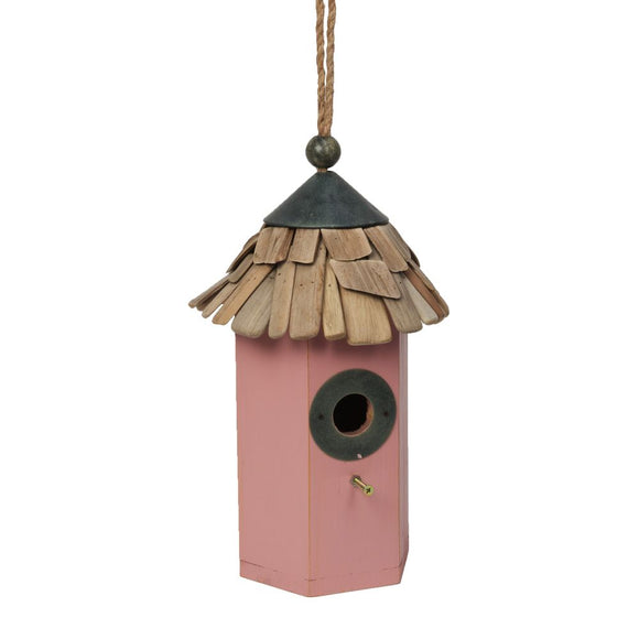 Wooden Bird House 35cm