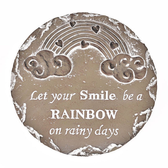 Let Your Smile Be A Rainbow Stepping Stone