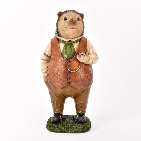 Country Living Suited Hedgehog Ornament