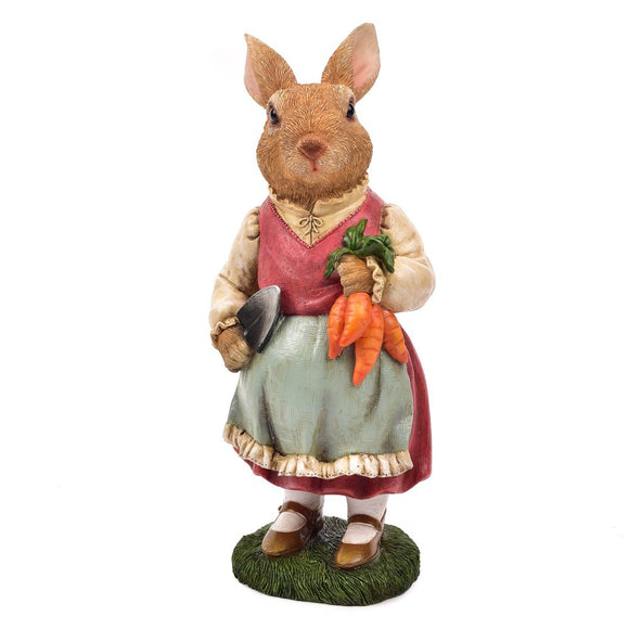 Dressed Rabbit Ornament