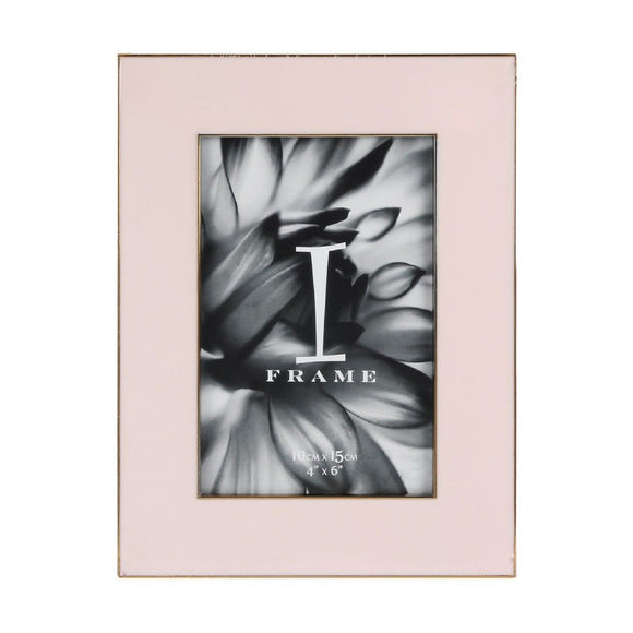 iFrame Die Cast Pastel Pink Photo Frame