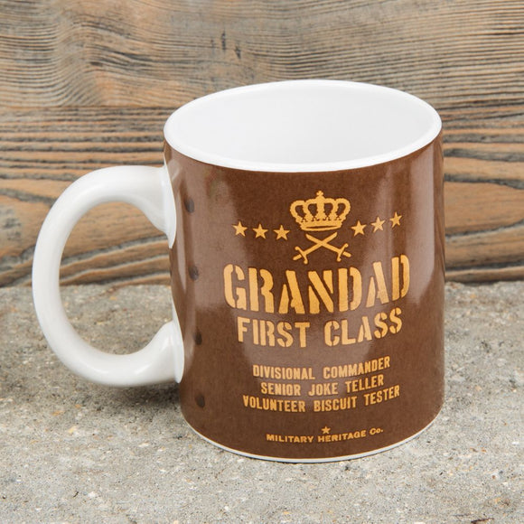 Military Heritage Grandad First Class Mug