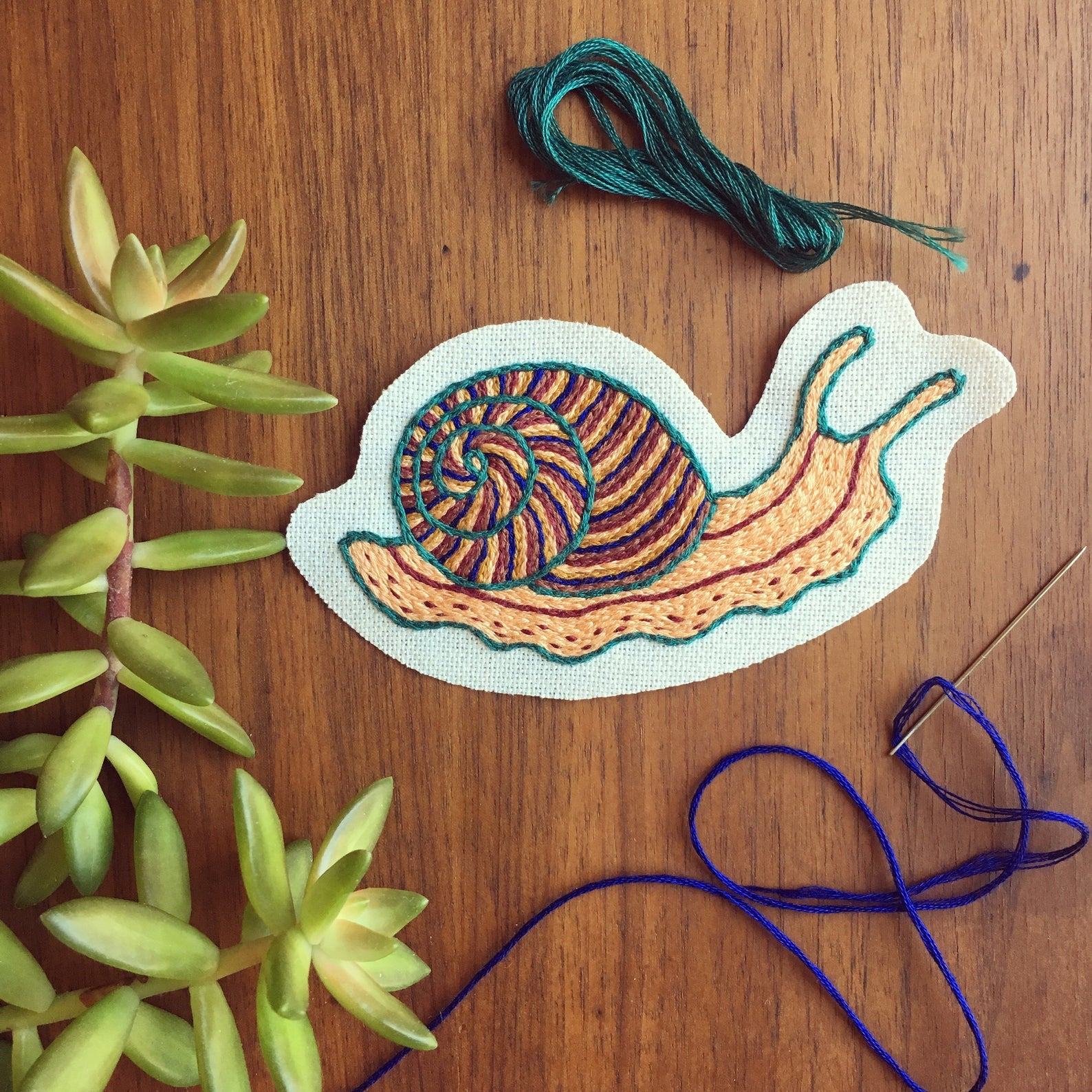 Magic Snail Patch