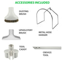 VPC Central Vacuum Accessory Kit with Deluxe Tool Set - Accessories Included