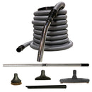 Basic Air Attachment Kit with Deluxe Tools for Central Vacuum