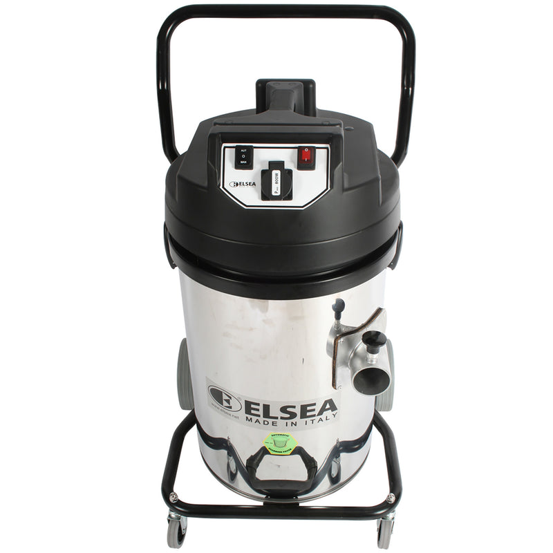 Trantor Industrial Two-Motor Vacuum - Front