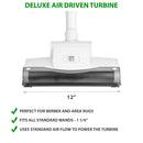 Deluxe Air Driven Turbine perfect for berber and area rugs