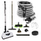 Wessel-Werk Central Vacuum Accessory Kit with EBK341 Electric Powerhead and Bonus Tools - Black