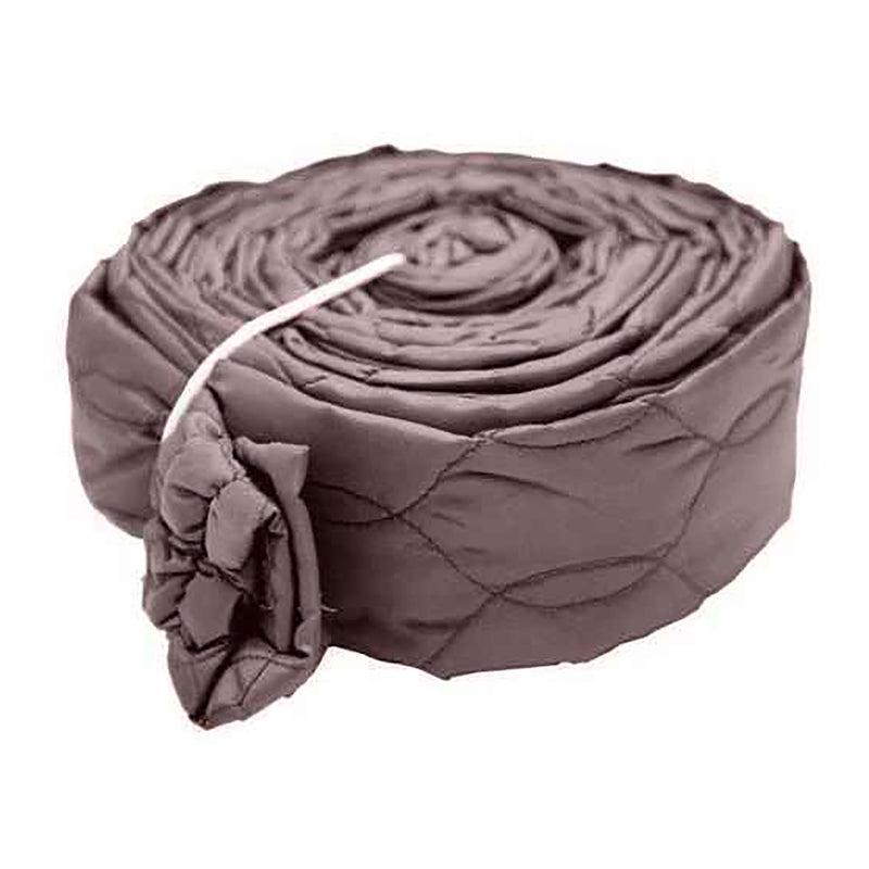 Hose Cover - 30 ft - Zippered - Padded - Brown
