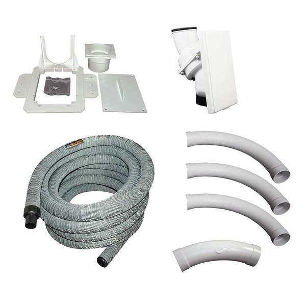 Retractable Hose Installation Kit with Gray Sock