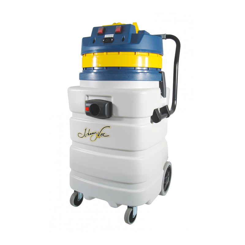 Johnny Vac Heavy Duty Wet and Dry Commercial Vacuum - 22.5 Gallon Capacity - 2 Motors