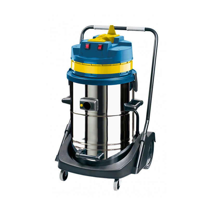 Johnny Vac Wet and Dry Commercial Vacuum - 20 Gallon Capacity - Brushes and Accessories Included