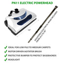 PN11 Electric Powerhead with adustable electrical wand