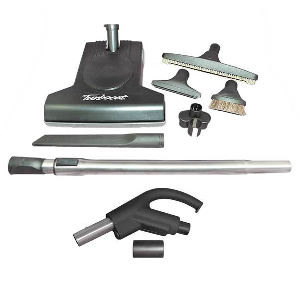 Retractable Hose Premium Tool-Kit with Turbo Cat