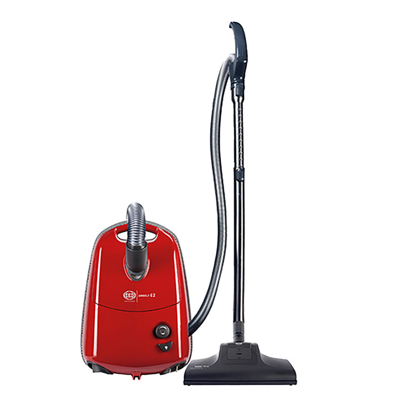 SEBO Airbelt E2 Turbo Canister Vacuum - Red