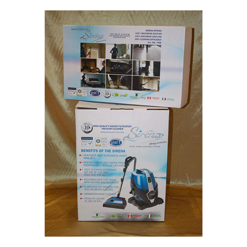 Sirena Canister Vacuum - 2 Speed with Ultra Deluxe Bonus Package
