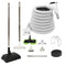 VPC Central Vacuum Accessory Kit with Telescopic Wand and Bonus Tools