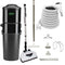 Vacuflo DB9000 Central Vacuum with Deluxe Electric Package - White