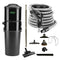 Vacuflo DB9000 Central Vacuum with Rug and Floor Package - Black