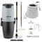 Nilfisk Supreme 250 Central Vacuum with White SEBO ET-1 Powerhead and Supreme Package - White