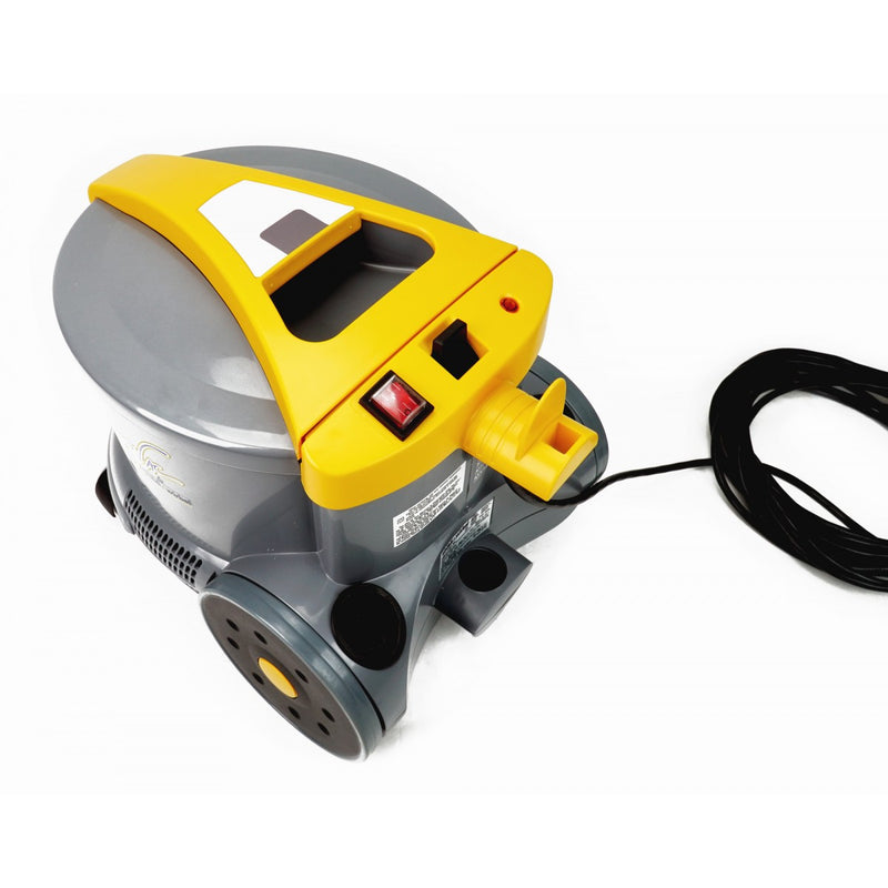 Johnny Vac Commercial Canister Vacuum - Heavy Duty - On Board Tools